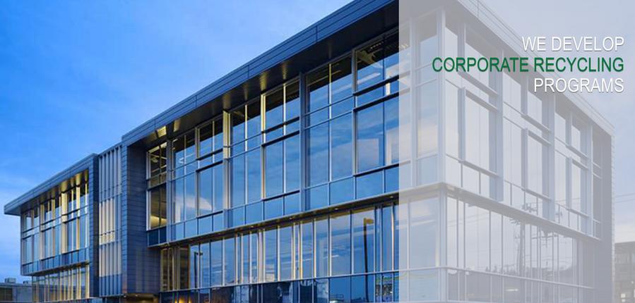 Industrial corporate headquarters