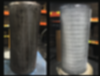 Industrial Filters-before-after Liquid S