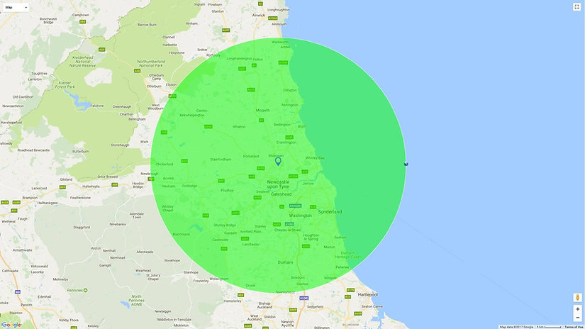 Gotan sunbed hire delivery map