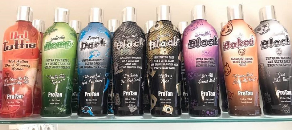 Go Tan Home Sunbed Hire tanning creams and lotions