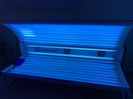 ELITE ELECTRONIC.Elite Double lay down home sunbed hire