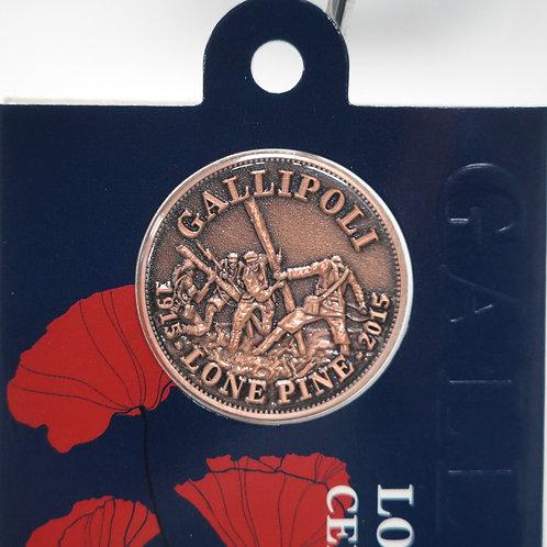 Gallipoli Loan Pine  Centenary Coin