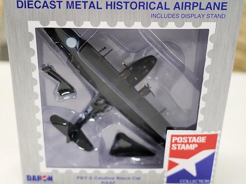 Metal die cast model PBY-5 Catalina Black Cat - 1:150