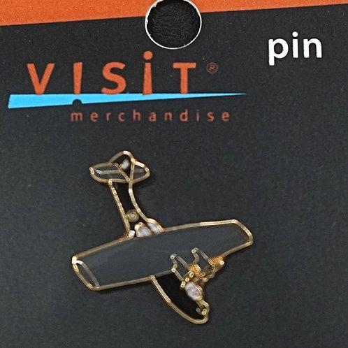 Catalina Metallic Pin