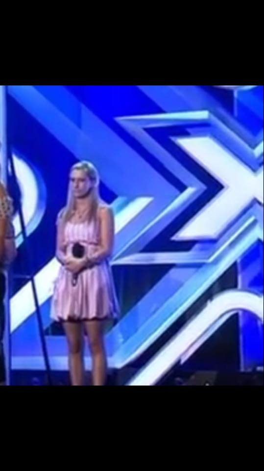 Nina on the X-Factor (Boot Camp)