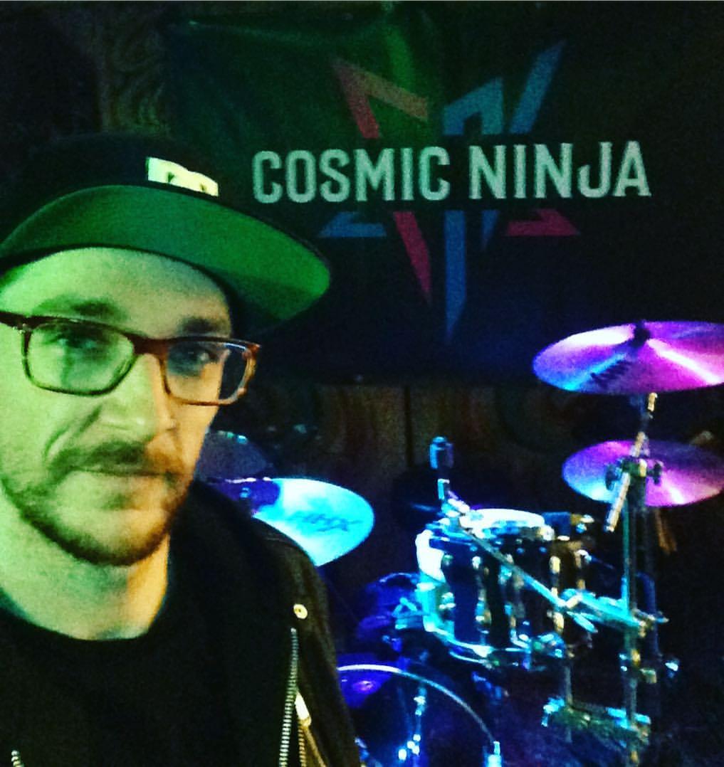 Cosmic Ninja Kit Selfie