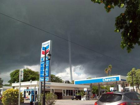 water spout Key West White street.jpg