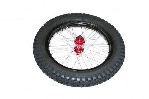 OSET 24.0 Wide 17 Inch Rear Wheel & Tyre. WHE032419
