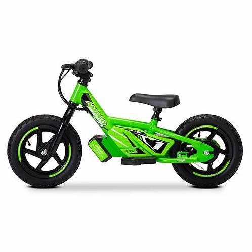 Amped A12 Electric Balance Bike Green