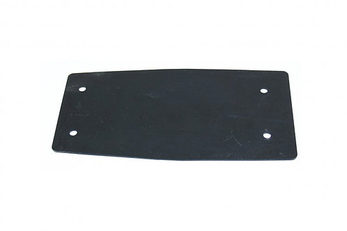24.0 Splash Guard Rear Rubber Black. PLA062241
