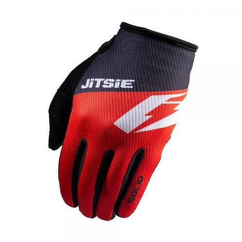 JITSIE G2 Solid Kids Gloves Red