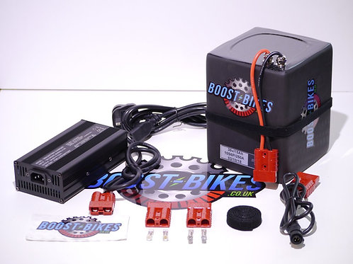 36v Boost Bike Lithium Ion Battery & Charger For 16.0/20.0 Lite