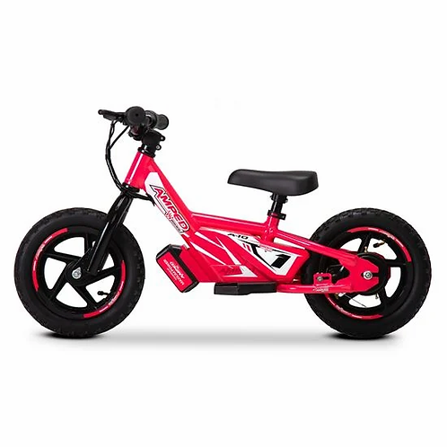 Amped A12 Electric Balance Bike Pink