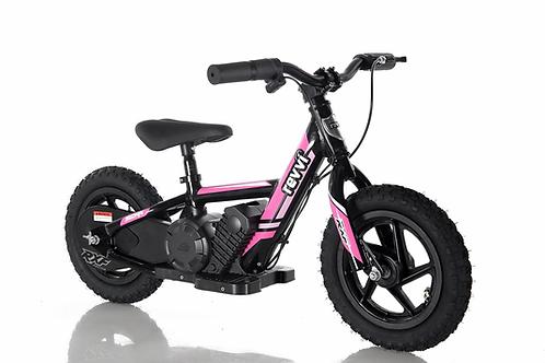 "Revvi 12"" Electric Balance Bike Pink"