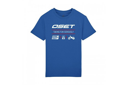 OSET Jitsie Electric range, t-shirt, Blue Kids