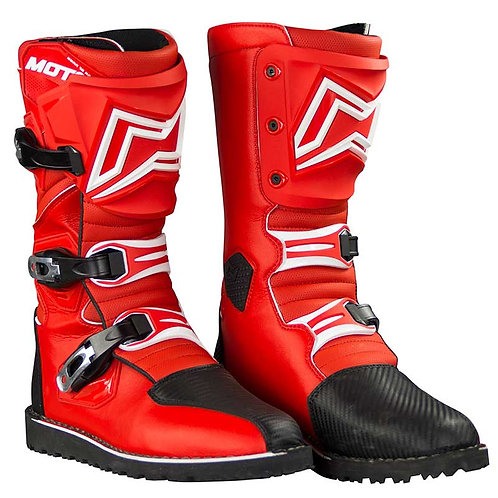 MOTS ZONA2 Trial Boots –Red