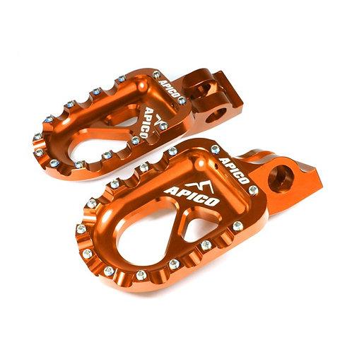 Apico CNC Aluminium Foot pegs