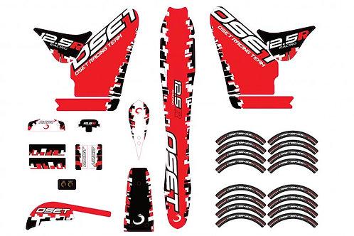 2018+ 12.5 Racing Sticker Set. STI012828
