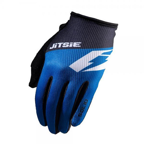 JITSIE G2 Solid Kids Gloves Blue