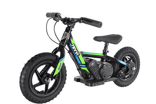 """Revvi 12"""" Electric Balance Bike Green"""