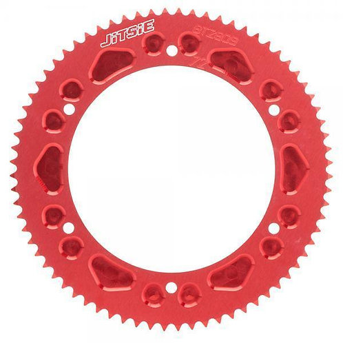 Jitsie Aluminium Rear Sprocket 20.0 Racing (with carrier)