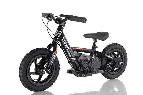 "Revvi 12"" Electric Balance Bike Black"