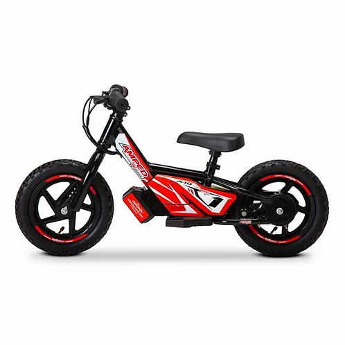Amped A12 Electric Balance Bike Black