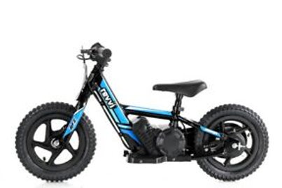 "Revvi 12"" Electric Balance Bike Blue"
