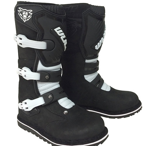 Wulfsport Cub Trials Boots - Black