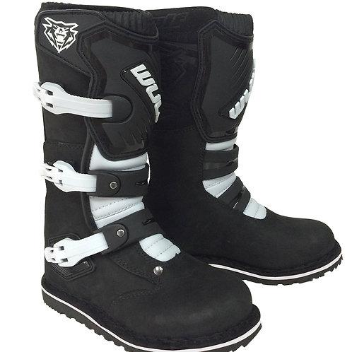Wulfsport Cub Trials Boots - Black
