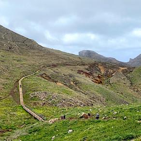 Madeiran monimuotoiset maastot