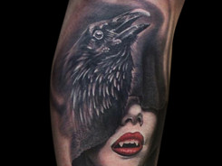 Realism Tattoo by Christian Brito