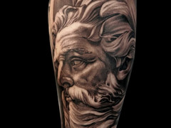 Realism tattoo by Sanchez Santi