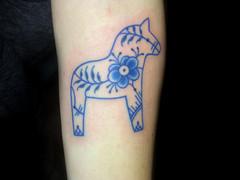 Traditional tattoo by Aygul Bayanova