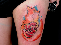 Fox and Rose