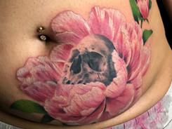 Colour realism tattoo by Kiwie Mauri