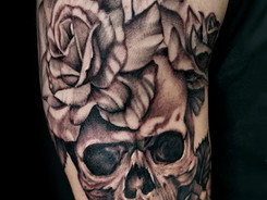 Realism tattoo by Sanchez Santi