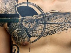 Blackwork tattoo by Aygul Bayanova