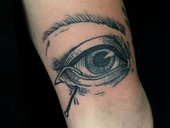 Blackwork Tattoo by Sierra