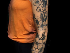 Sketchy tattoo by Aygul Bayanova