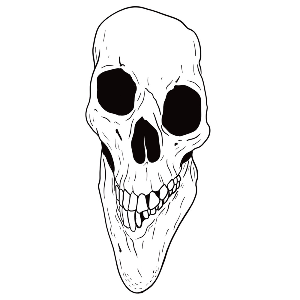Blackwork Skull
