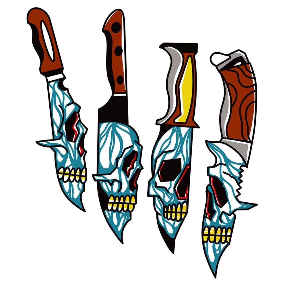 Skull Knives
