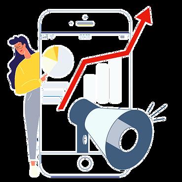 Social-media-marketing-flat-illustration