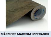 APLIKDECOR MARMORE MARROM IMPERADOR 1R=1220MMX15M