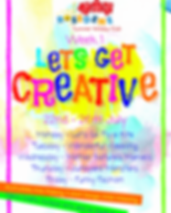 Week 1 - Let's Be Creative