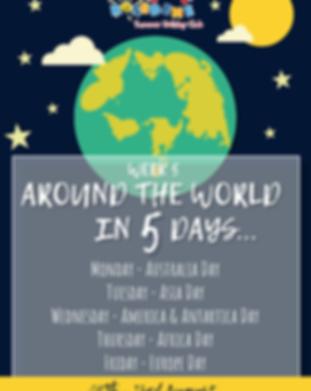 Week 5 - Around the World