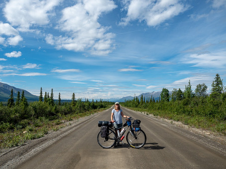 This is bear country: Cycling the Denali Highway