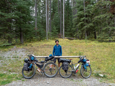 The Great (snowy) Divide Mountain Bike Route: Banff to Eureka