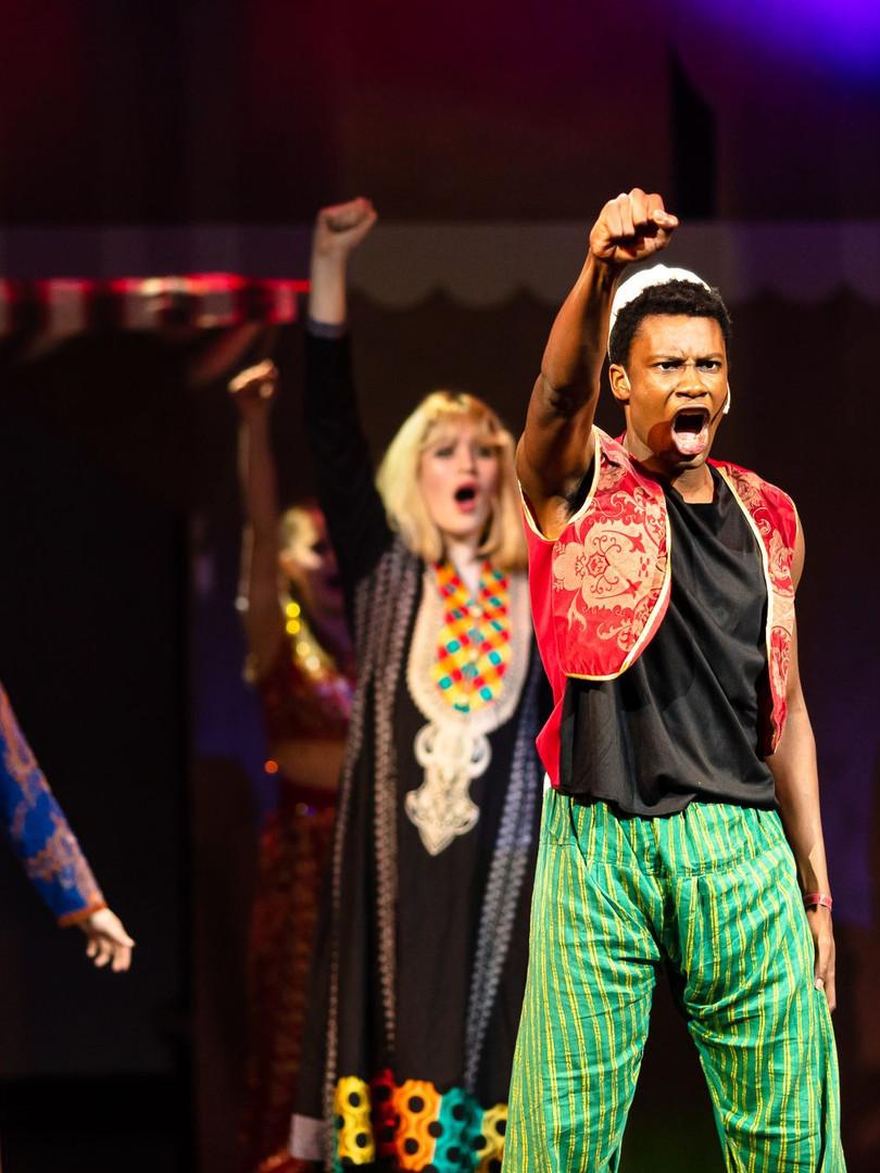 Sceneverftet - Aladdin 2021