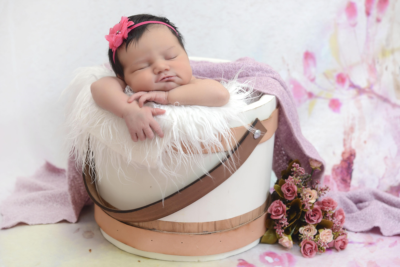 Ensaio newborn na residência em SP